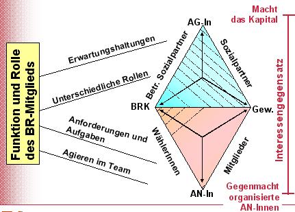 Funktion und Rolle des BR-Mitgliedes